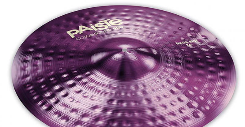 Paiste Color Sound 900 Purple Mega Ride 24″