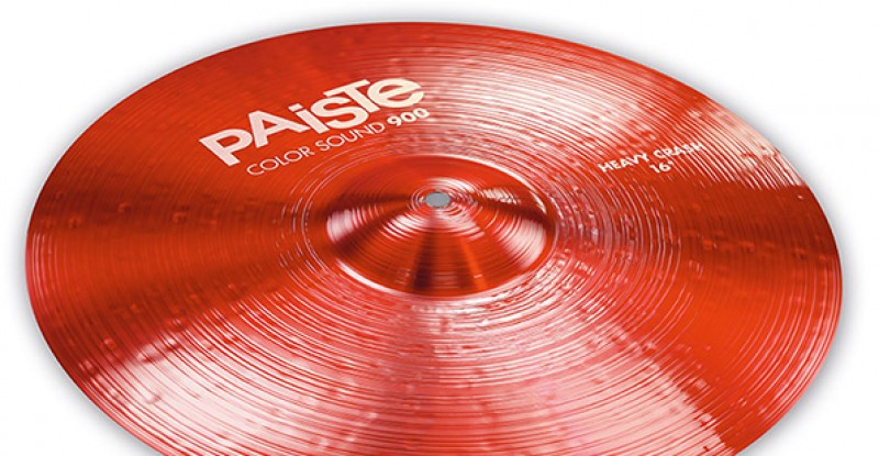 Paiste Color Sound 900 Red Heavy Crash 16″ 17″ 18″ 19″ 20″
