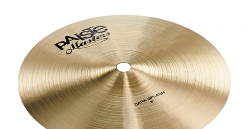 Paiste Masters Dark Splash 8″ 10″