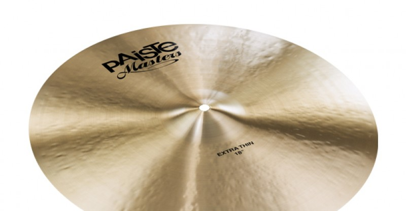 Paiste Masters Extra Thin Crash 18″ 19″ 20″