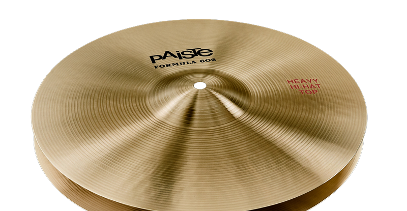 Paiste Formula 602 Classic Sounds Heavy Hi-Hat 14″ 15″