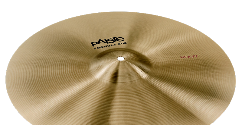 Paiste Formula 602 Classic Sounds Heavy 16″ 18″ 20″